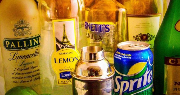 Hard Lemonade Limoncello Martini Style Recipe