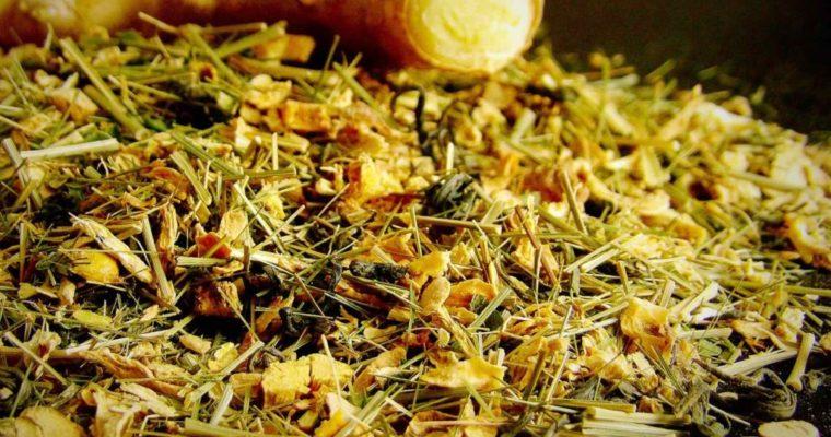 Enjoyable Sencha: Coastal Tea Company Ginger Mint Green Tea