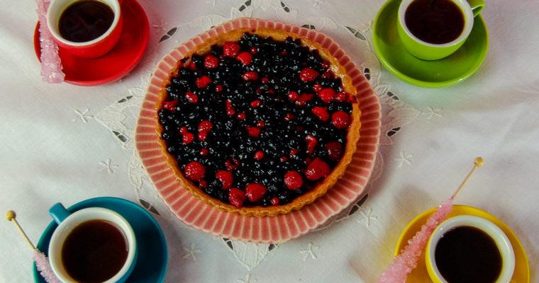 Dessert Recipe: Mixed Berry Fruit Tart