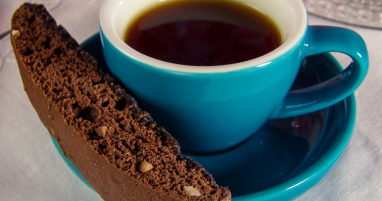 Cookie Recipe: Chocolate Almond Biscotti