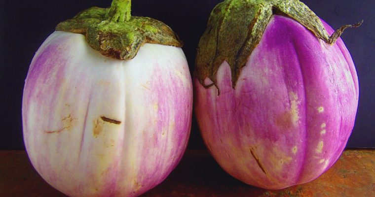 How To Prepare a Thai Round Purple Eggplant