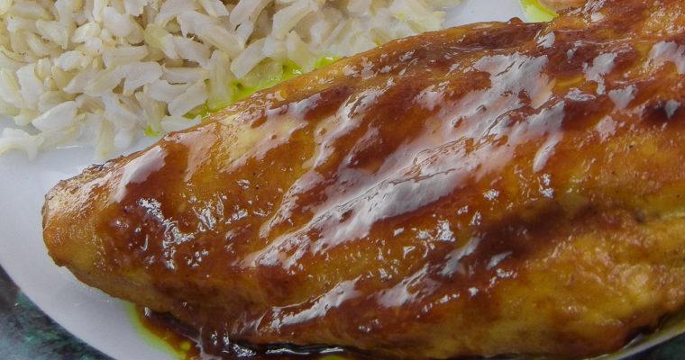 Chicken Recipe: Curry-Mustard Boneless Chicken Breasts