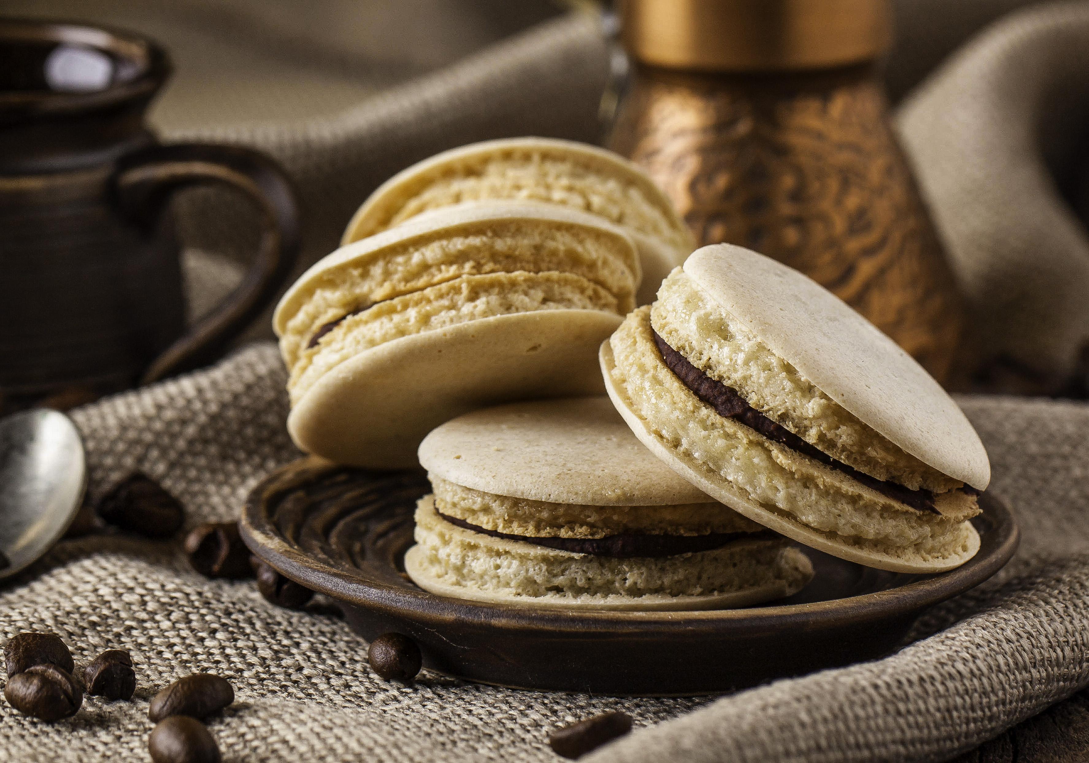 Dessert Recipe: Chocolate Coffee Macaroon Cookies