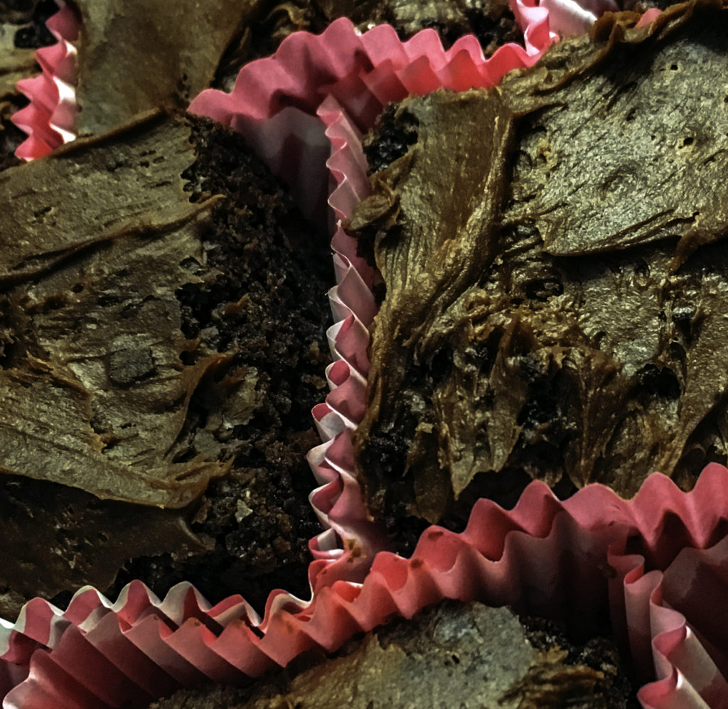 Guajuana melts into the brownie, creating gooey, moist insides with a light flaky top layer of hazelnut spread that remains creamy underneath