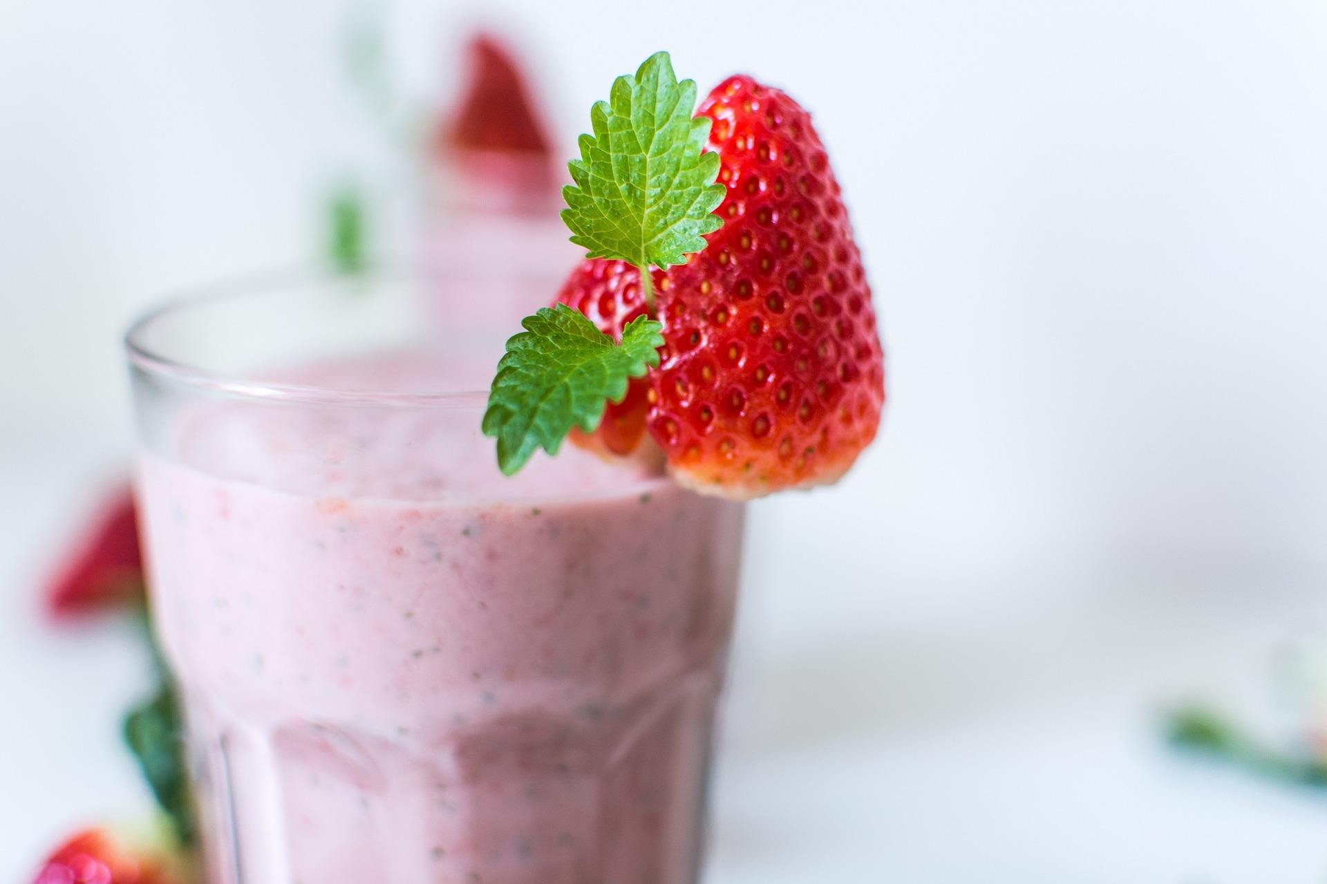 Very Very Strawberry Smoothie Recipe