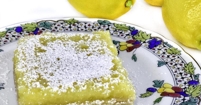 Dessert Recipe: The Lemonyest Lemon of the Lemon Squares