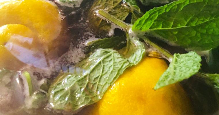 Lemon Mint Ice Tea Recipe