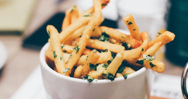 Parmesan Porcini French Fries recipe | Parmesan truffle fries