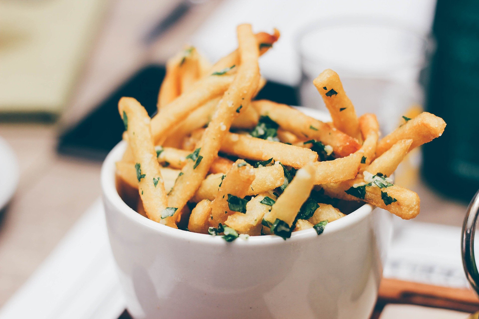 Parmesan Porcini French Fries recipe   Parmesan truffle fries